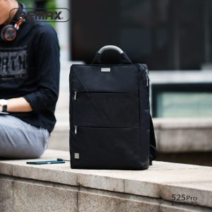 Rucsac laptop Remax Double 525 Pro cu organizator pentru electronice (2 nuante)-0