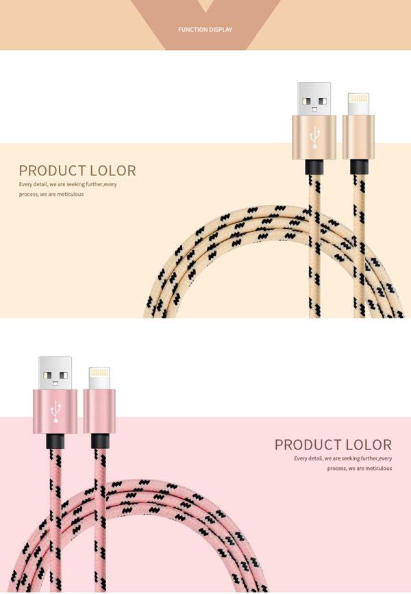 Cablu lung de 2 metri (micoUSB) -4141