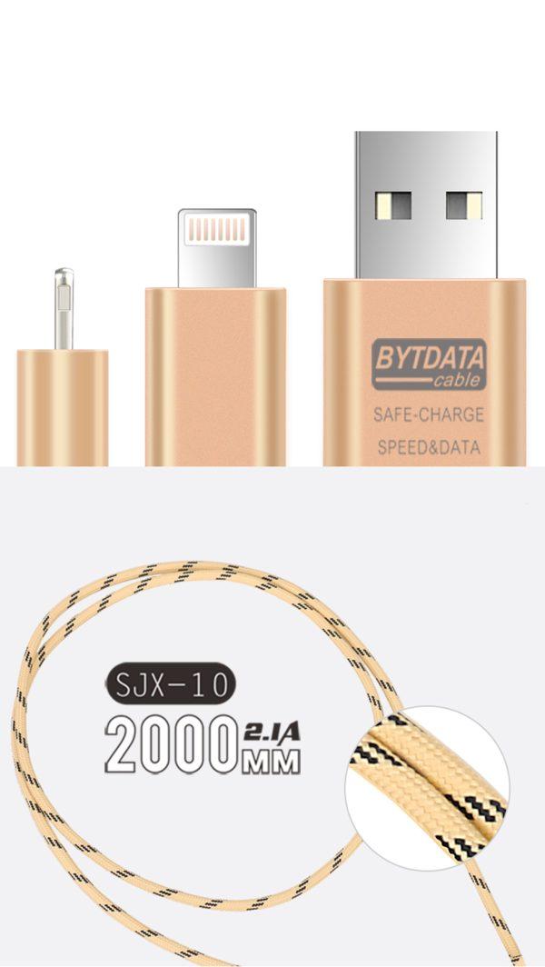 Cablu lung de 2 metri (micoUSB) -4139