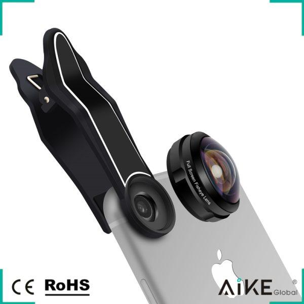 Lentila HD fish eye pentru telefon full frame -4168
