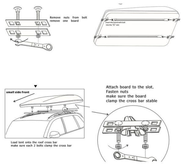 Cort auto Nature Hard-Top pentru masini mici si medii-4294