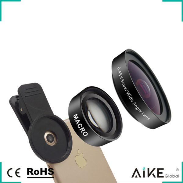 Set lentile Wide si Macro pentru telefon HD profesionale-4150