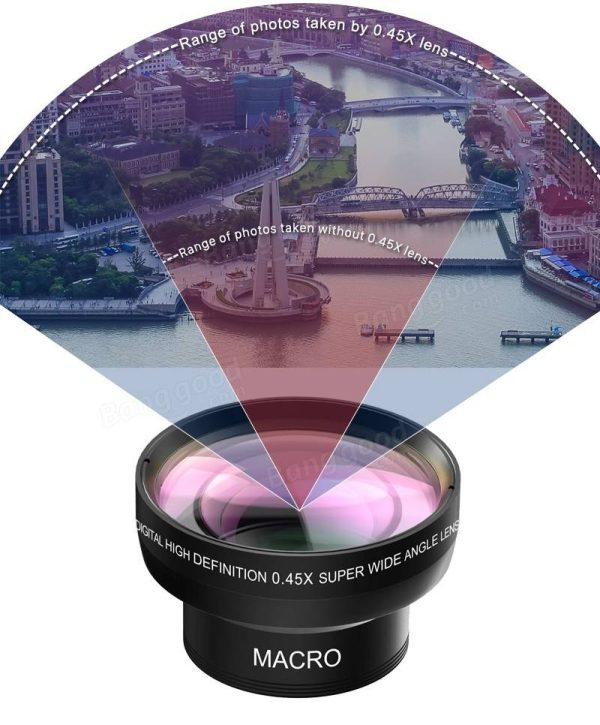 Set lentile Wide si Macro pentru telefon HD profesionale-4153