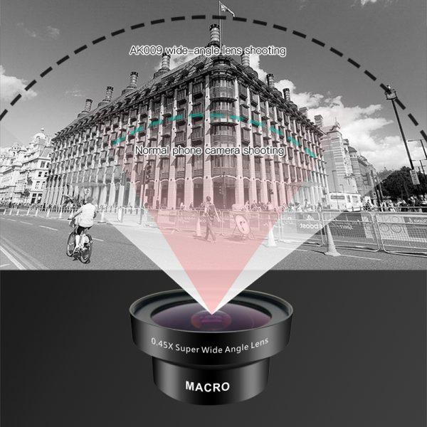 Set lentile Wide si Macro pentru telefon HD profesionale-4154