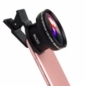 Set lentile Wide si Macro pentru telefon HD profesionale-0