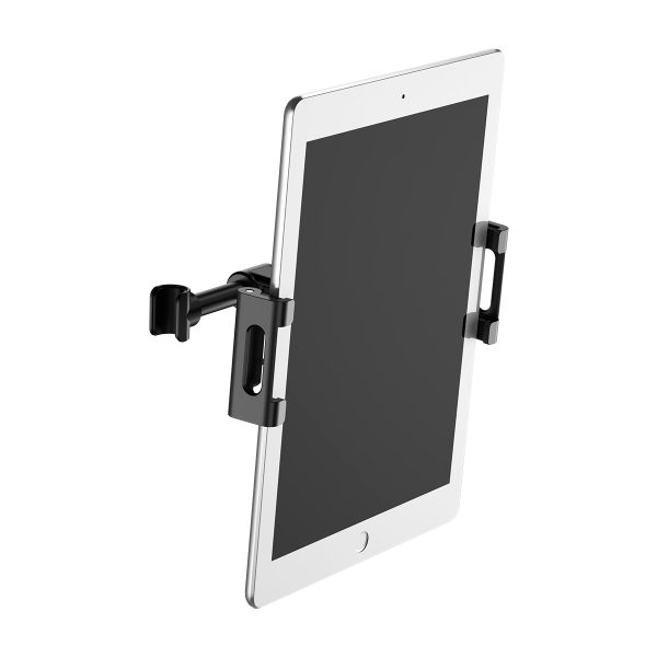 Suport tetiera pentru telefon sau tableta Baseus (negru)-4083