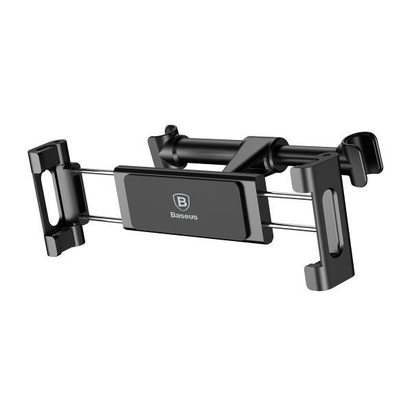 Suport tetiera pentru telefon sau tableta Baseus (negru)-4084