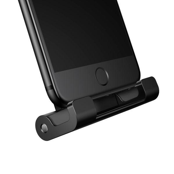 Suport tetiera pentru telefon sau tableta Baseus (negru)-4081