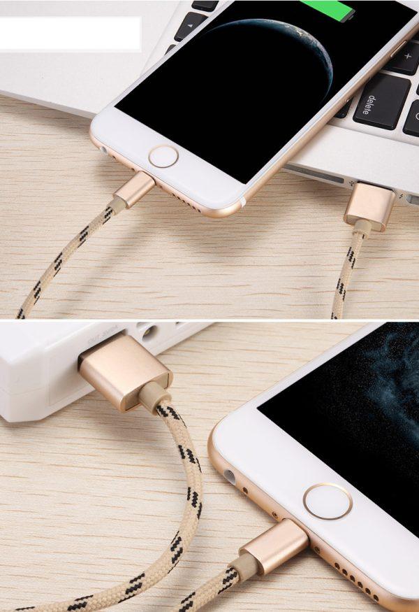 Cablu lung de 2 metri (micoUSB) -4146