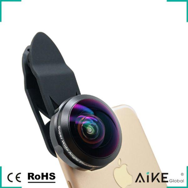 Lentila HD fish eye pentru telefon full frame -0