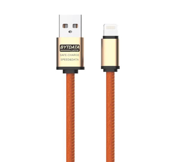 Cablu date si incarcare piele eco (Lightning pt Apple) -4296