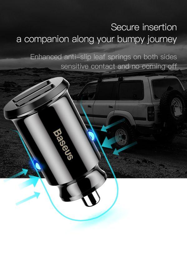 Incarcator auto premium generatia mini Baseus Grain-4871