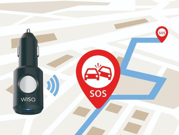 Incarcator masina cu functie de localizare in situatii de urgente The Wiso Panic Safe-4849
