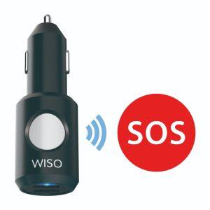 Incarcator masina cu functie de localizare in situatii de urgente The Wiso Panic Safe-4854