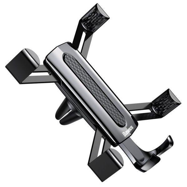 Suport telefon auto premium Baseus Spider man Gravity Negru-4776
