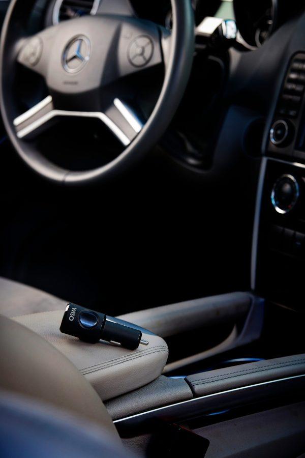Incarcator masina cu functie de localizare in situatii de urgente The Wiso Panic Safe-4859