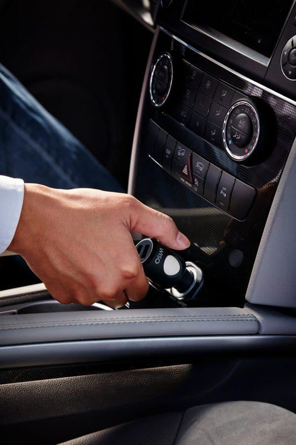 Incarcator masina cu functie de localizare in situatii de urgente The Wiso Panic Safe-4848
