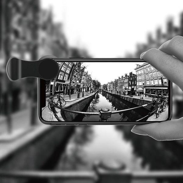 Set de lentile HD pentru smartphone wide, microfocus si fisheye Baseus versiune pro -4932