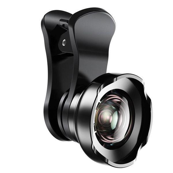 Set de lentile HD pentru smartphone wide, microfocus si fisheye Baseus versiune pro -4933