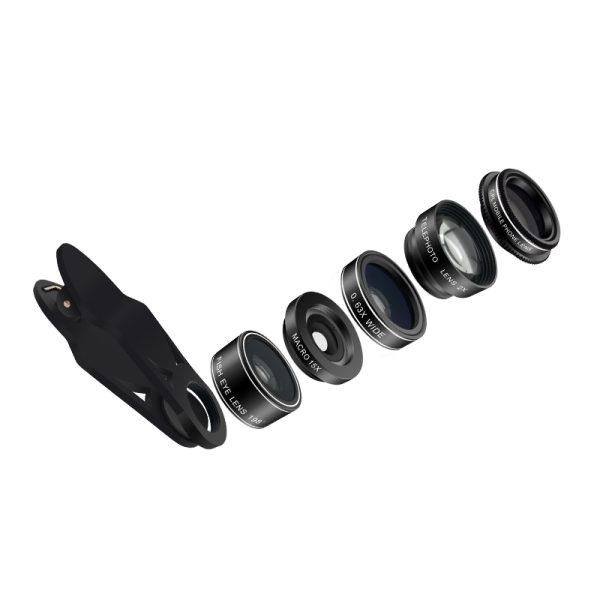 Set 5 tipuri lentile profesionale ultra HD marca AIKE pentru telefon -4984