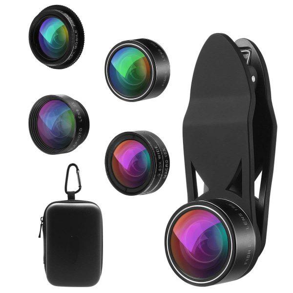 Set 5 tipuri lentile profesionale ultra HD marca AIKE pentru telefon -4985