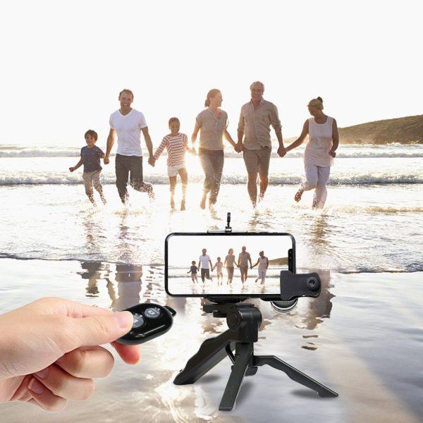 Obiectiv 20X zoom pentru telefon AIKE HD cu trepied si declansator bluetooth inclus-4995