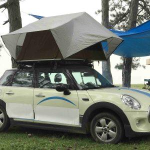 Cort auto universal Pavilion, din material textil tehnic-0