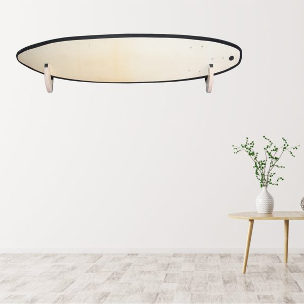 Suport natural de perete pentru ski, snowboard, skateboard, longboard (34x19 CM)-5184