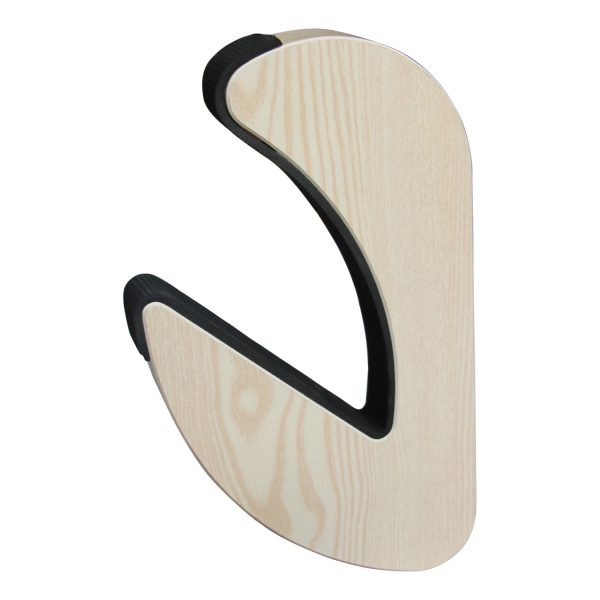 Suport natural de perete pentru ski, snowboard, skateboard, longboard (34x19 CM)-5180