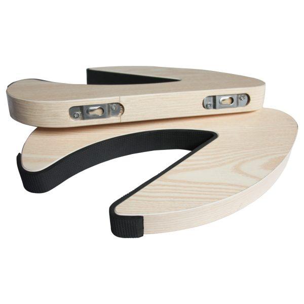 Suport natural de perete pentru ski, snowboard, skateboard, longboard (34x19 CM)-5188