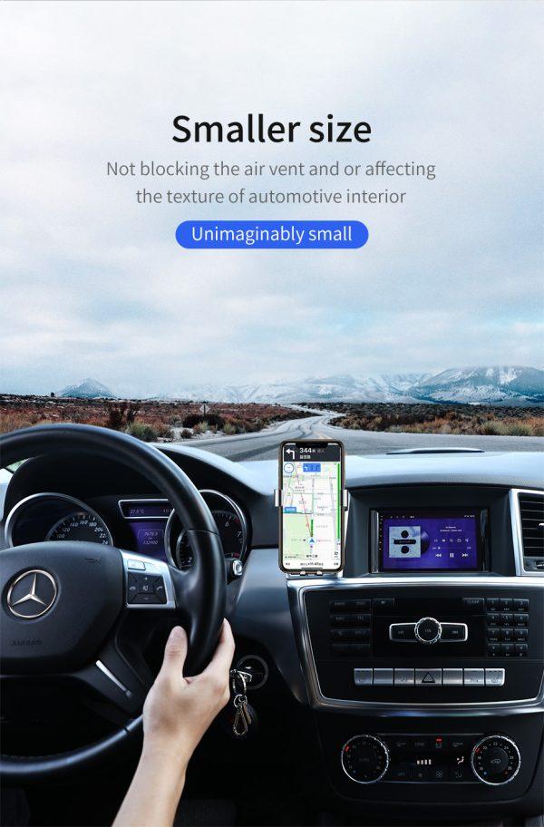 Suport telefon pentru masina Baseus Mini gravity holder negru -5112