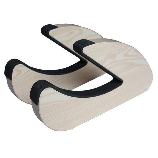 Suport natural de perete pentru ski, snowboard, skateboard, longboard (34x19 CM)-5186