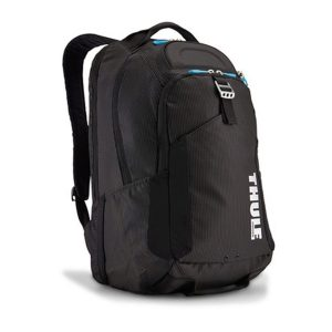 "Rucsac urban cu compartiment laptop Thule Crossover 32L Black, Professional Backpack pentru 15"" Apple MacBook iPad pocket, w Safe-zone"