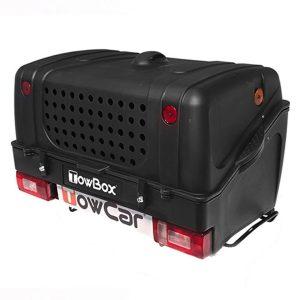 Cutie portbagaj pe carligul de remorcare Towbox V1 DOG Negru
